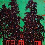 Armando Mariño. Two tree houses, 2014