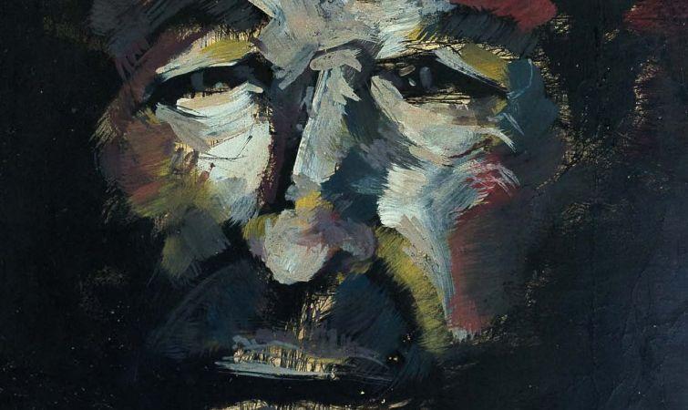 ELSO PADILLA. Retrato, ca. 1975