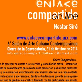 Narrating Enlace Compartido in Nestor Siré´s voice