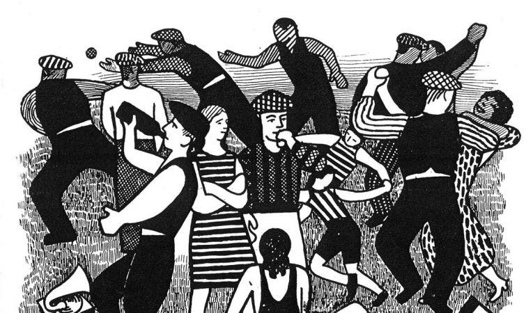MARCELO POGOLOTTI. Fiesta campestre, ca. 1935-1936