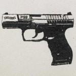 Walther P99 QA, de la serie Las armas no matan, 2013.
