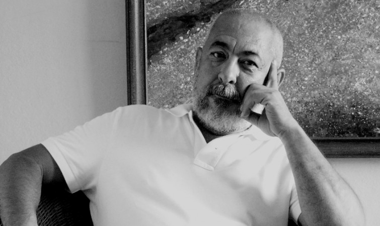 El-escritor-Leonardo-Padura,-2013