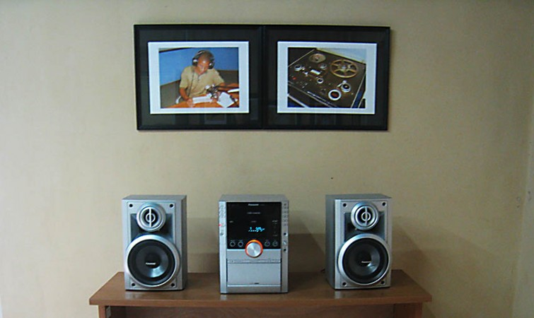 Proyecto interactivo de arte radiovisual (2006) , de Lesmes Larroza. Environment, técnica mixta