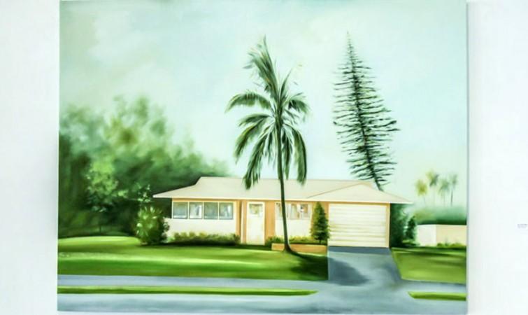 Sin Título. De la Serie Mi casa es tu casa (2014) Oleo sobre tela, 130x170 cm