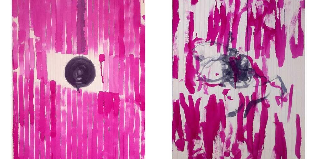 diptico-sin-titulo,-2014,-acrilico-sobre-lienzo