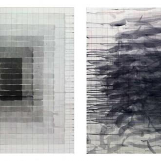 diptico-sin-titulo,-2014,-acrilico-sobre-lienzo,-70-x-60-ambos