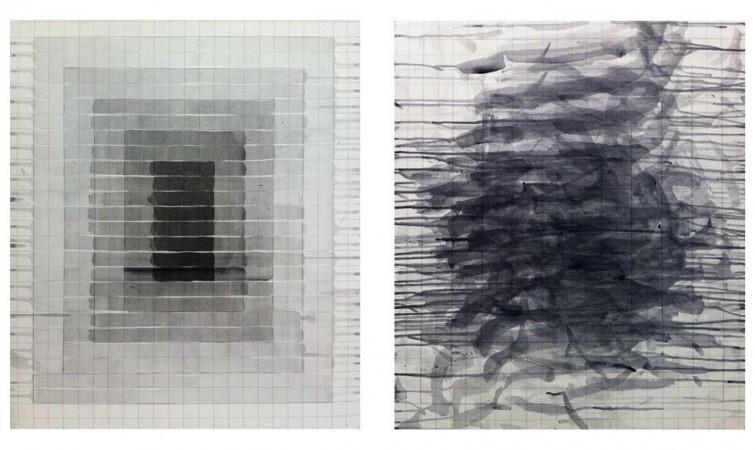 Ernesto García Sánchez. diptico-sin-titulo,-2014,-acrilico-sobre-lienzo,-70-x-60-ambos