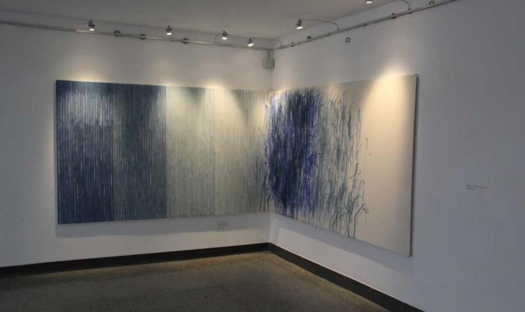 Ernesto García Sánchez. status-quo---2014,obra-realizada-in-situ,-acrílico-sobre-lienzo