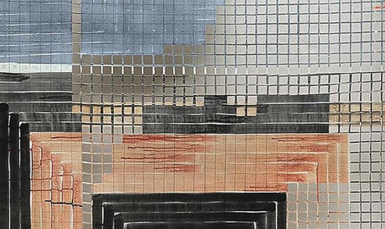 1-de-la-serie-las-pinturas-que-nacen-muertas,-acrílico-sobre-lienzo-calado,-2013