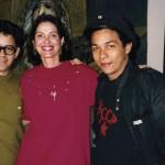 Carlos Rodríguez Cárdenas, Arturo Cuenca, Nina and Glexis Novoa, 1991.