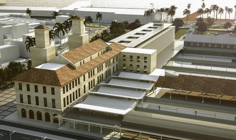 Estación-Central-de-Ferrocarriles-de-La-Habana(proyecto),-2014.