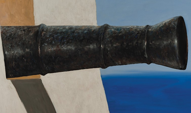 Julio-Larraz.-La-Fuerza,2014,Oil-on-Canvas,60x72in.Medium-Res