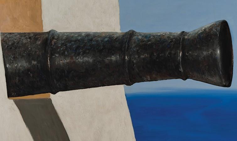 Julio-Larraz.-La-Fuerza,2014,Oil-on-Canvas,60x72in.Medium-Res