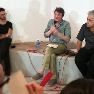 Bourriaud y Jorge Fernández dialogan en Galleria Continua