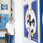 Nelson Villalobos at his studio in Havana. Photo: Courtesy the artist