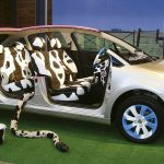 PEPE FRANCO - Argentinian cows roam in the first Citroën built in the country, 2011