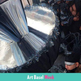 Conga irreversible para inaugurar el Faena Art Forum