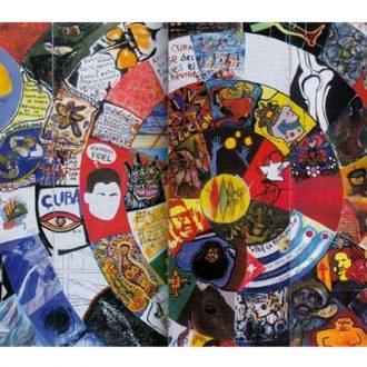 Itinerario del mural colectivo del XXIII Salón de Mayo