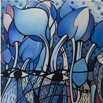 El rescate del tulipán azul