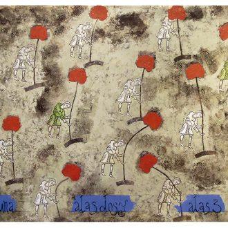 Ángel Ramírez, en el jardín de los de a pie