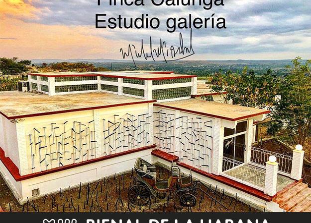 Michel Mirabal – Open Studio. Finca Calunga