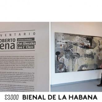 Rigoberto Mena y su Inventario en tiempo de Bienal