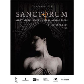 SANCTORUM: Upcoming exhibition in Artis 718